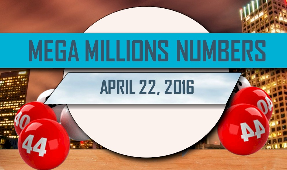 Mega Millions Winning Numbers April 22 Results Tonight 2016 Released
