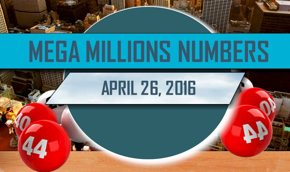 Mega Millions Winning Numbers April 26 Results Tonight Released 2016