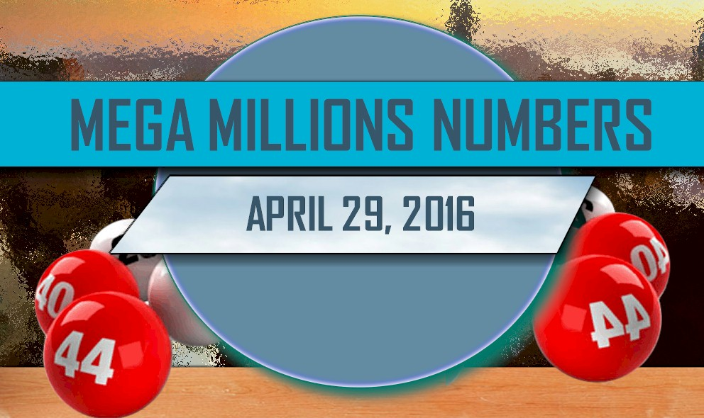Mega Millions Winning Numbers April 29 Results Tonight Released 2016