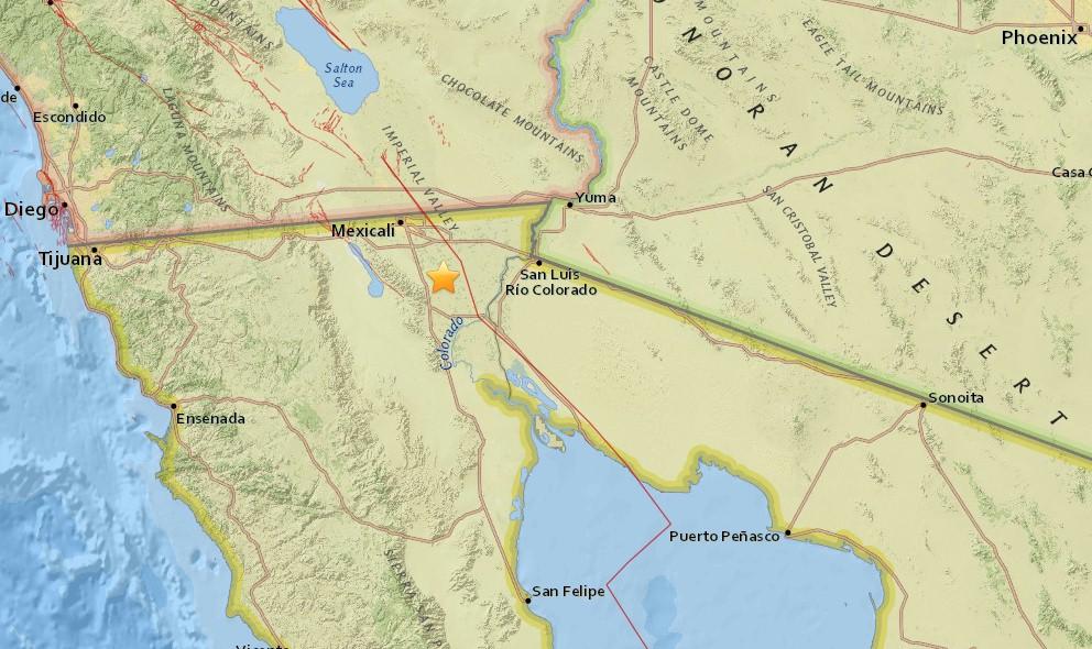Mexico Earthquake Today 2016 Strikes Puebla, Mexicali