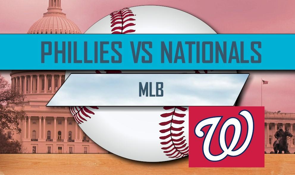 Phillies vs Nationals 2016 Score: MLB Baseball Score Results