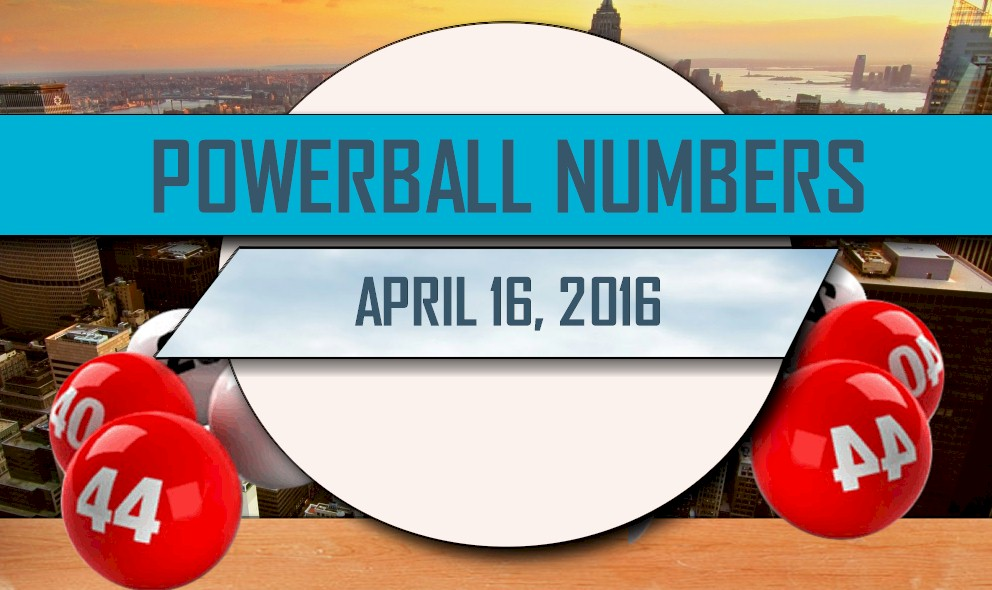 Powerball Winning Numbers April 16 Results Tonight Get Released
