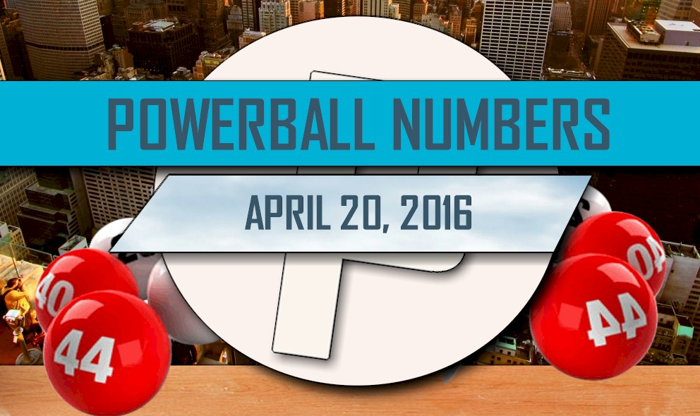 Powerball Winning Numbers April 20 Results Tonight Released 2016
