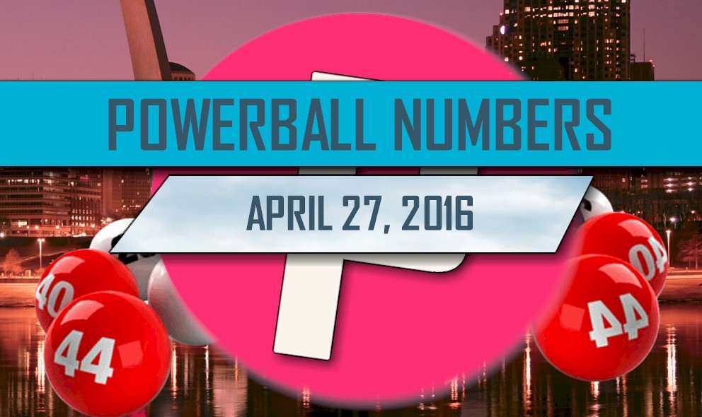 Powerball Winning Numbers April 27 Results Tonight Released 2016