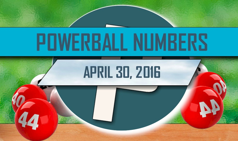 Powerball Winning Numbers April 30 Results Tonight Released 2016