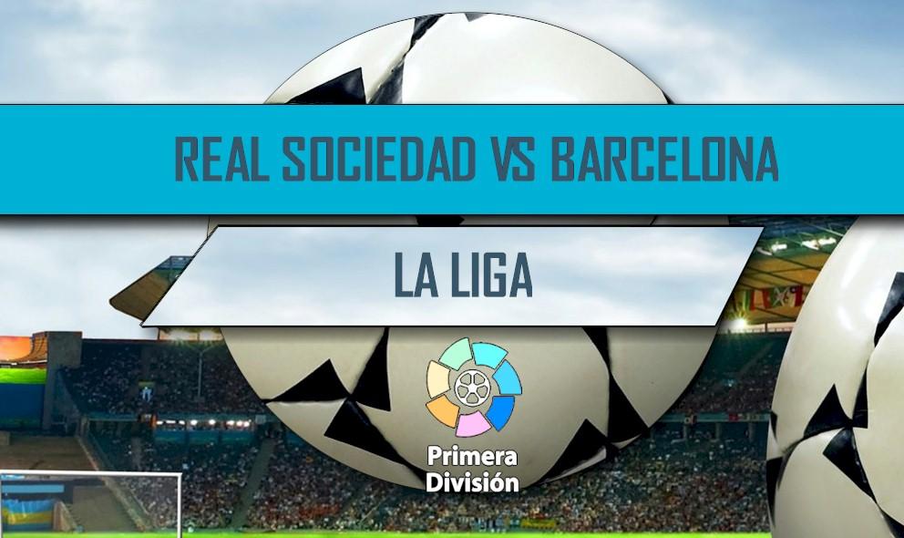 Real Sociedad vs Barcelona 2016 En Vivo Score: La Liga Table Results