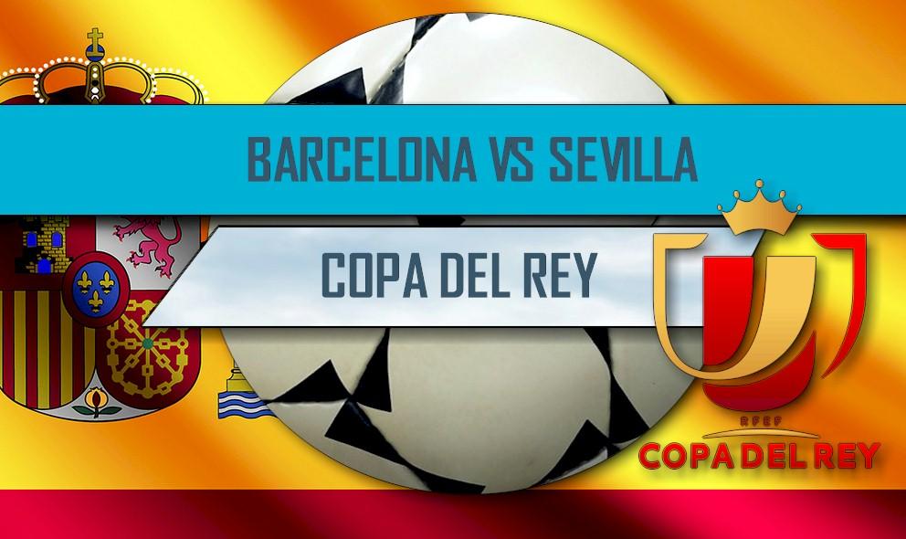 Barcelona vs Sevilla 2016 En Vivo Score: Copa Del Rey Ganador Results