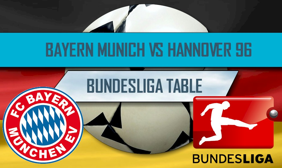 Bayern Munich vs Hannover 96 Score Ignites Bundesliga Table Results