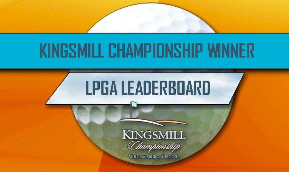 Ariya Jutanugarn Wins Kingsmill Championship 2016 LPGA Leaderboard