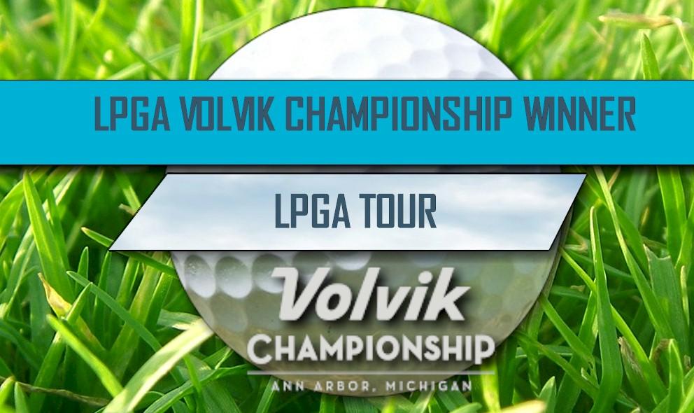 Ariya Jutanugarn Wins LPGA Volvik Championship 2016: LPGA Leaderboard