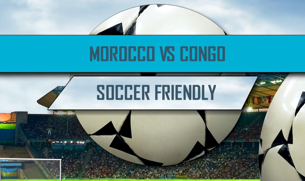 Morocco vs Congo 2016 Score: International Friendly Soccer