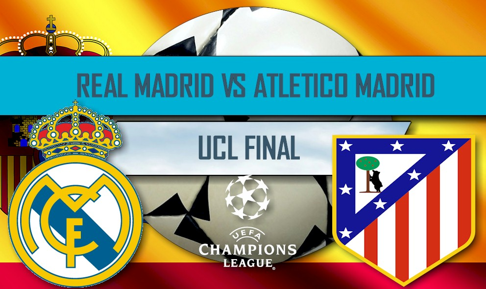 Real Madrid vs Atlético Madrid 2016 En Vivo Score: UCL Final Ganador