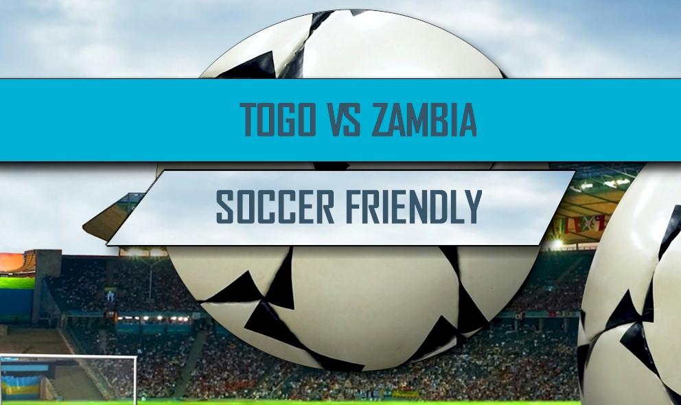 Togo vs Zambia 2016 Score: International Friendly