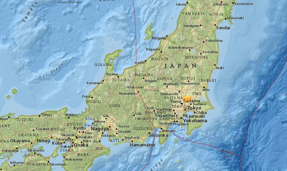 Japan Earthquake Today 2016: Breaking News of Ring of Fire Quake