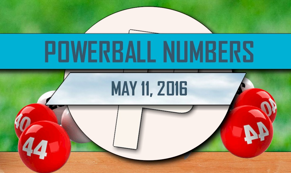 Powerball Winning Numbers May 11 Results Tonight Released 2016