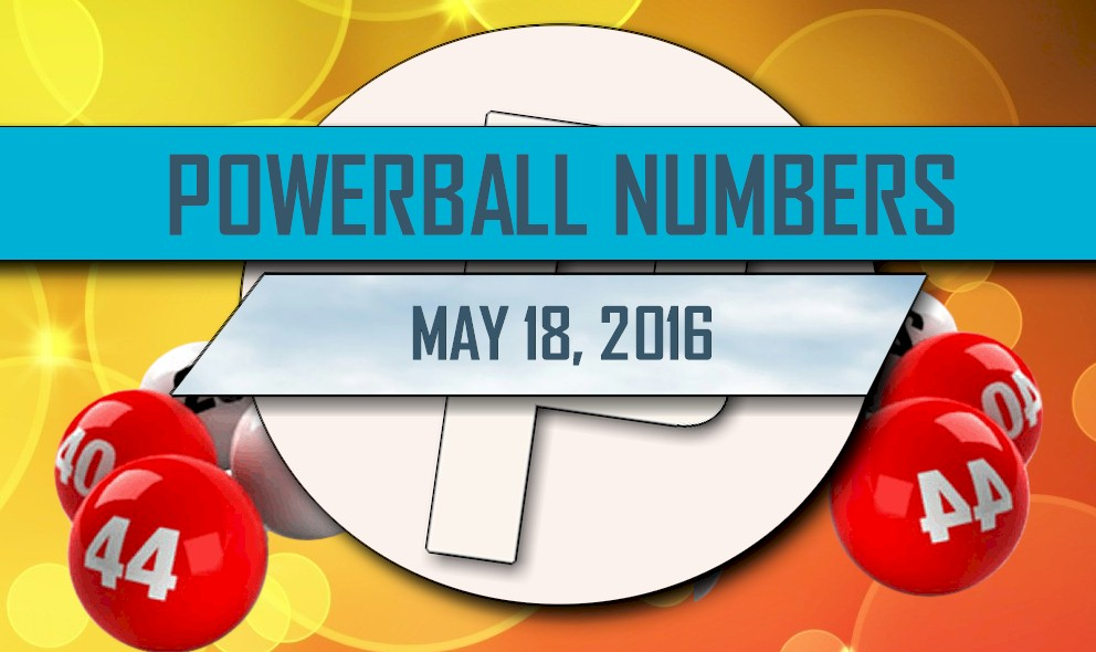 Powerball Winning Numbers May 18 Results Tonight Released 2016