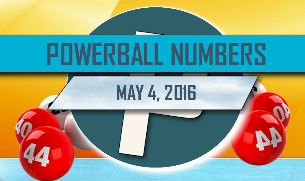 Powerball Winning Numbers May 4 Results Tonight Revealed 2016