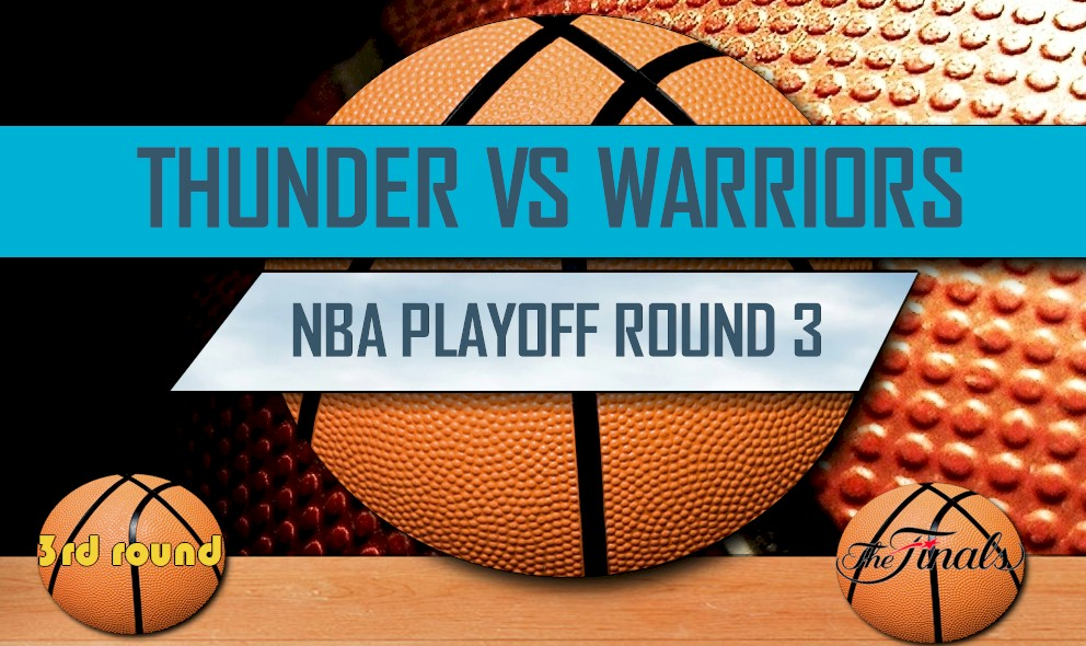 Thunder vs Warriors 2016 Score: NBA Scores, NBA Playoff Bracket Round 3