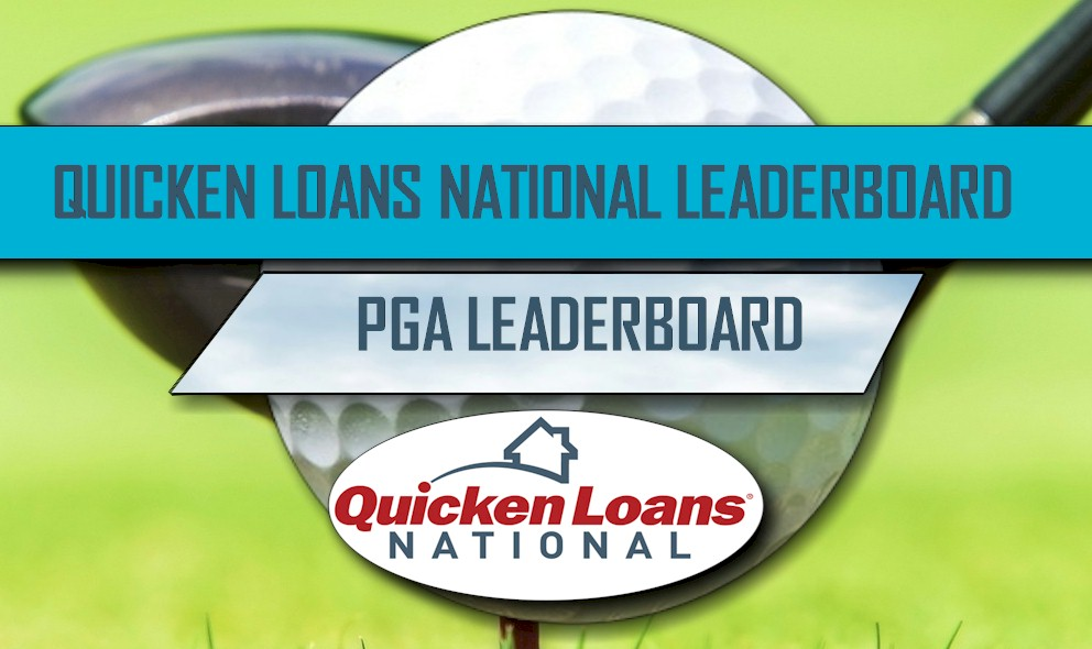 Quicken Loans National Leaderboard 2016: PGA Leaderboard Surges Singh