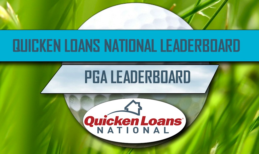PGA Leaderboard 2016: Hurley Tops Quicken Loans National Leaderboard
