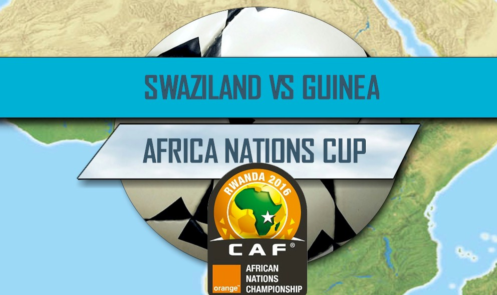 Swaziland vs Guinea 2016 Score: Africa Cup of Nations Qualifier