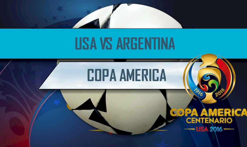 USA vs Argentina 2016 Score En Vivo: Copa America Score Results Tonight