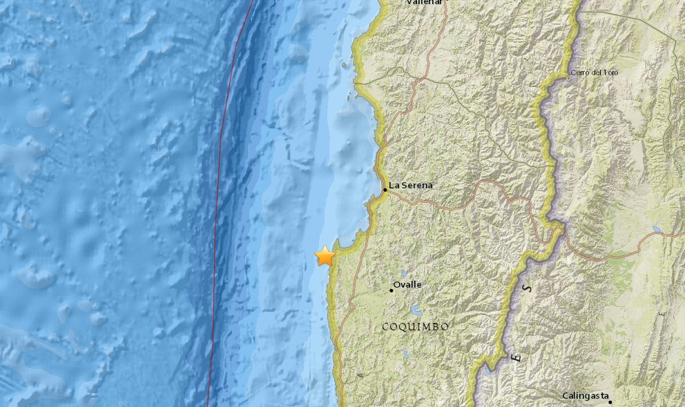 Chile Earthquake Today 2016: Terremoto Strikes Coast
