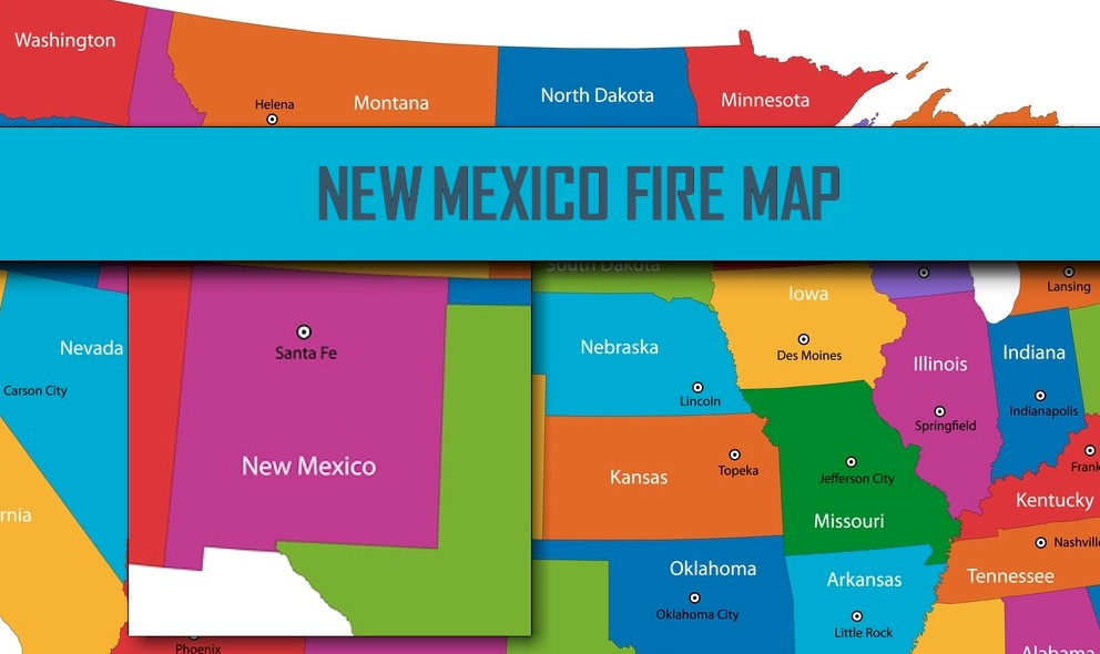 New Mexico Fire Map 2016: North Fire Map, Dog Head Fire, Spur Fire