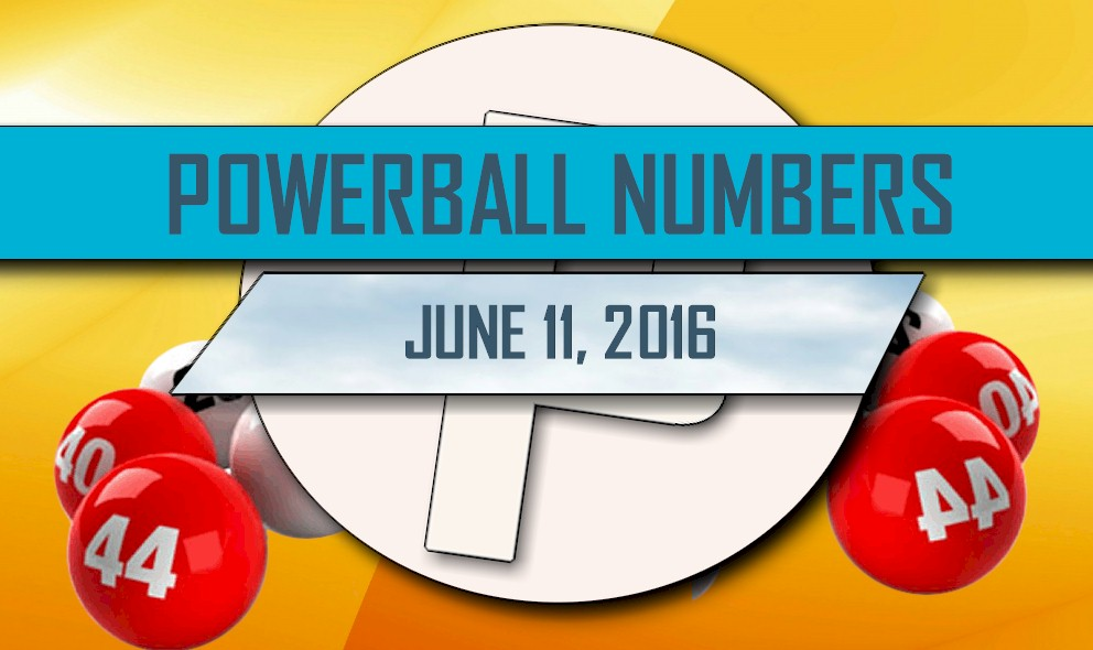 Powerball Winning Numbers June 11 Results Tonight Released