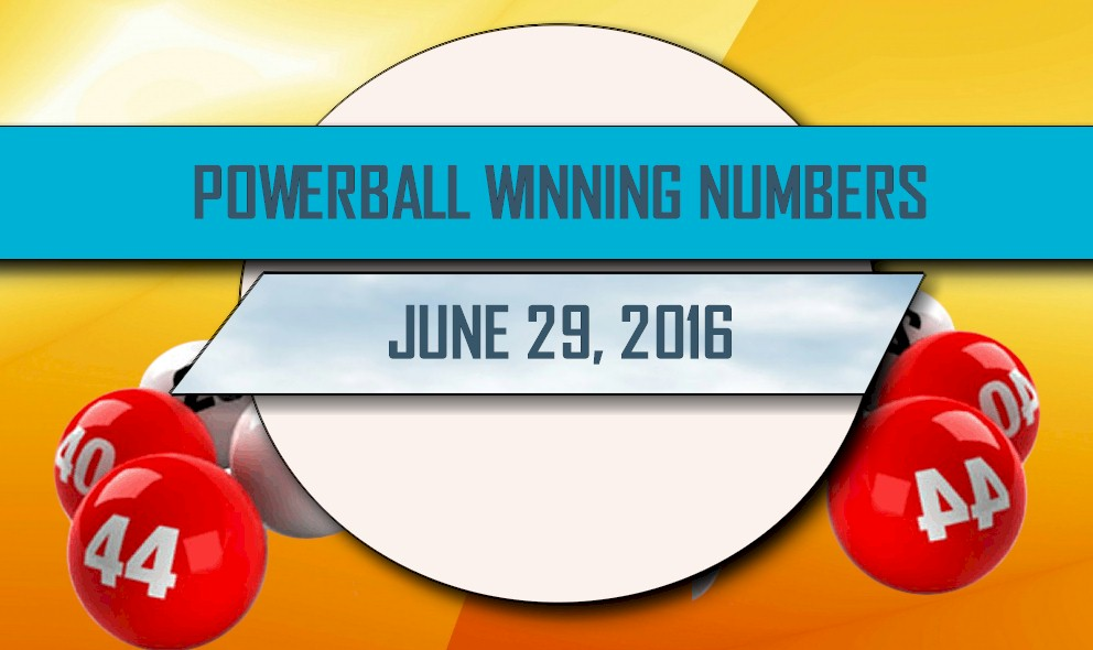 Powerball Winning Numbers June 29 Results Tonight Released 2016