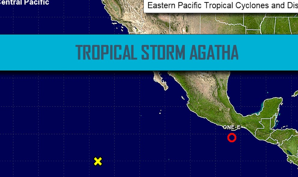 Tropical Storm Agatha Projected Path Mexico: National Hurricane Center