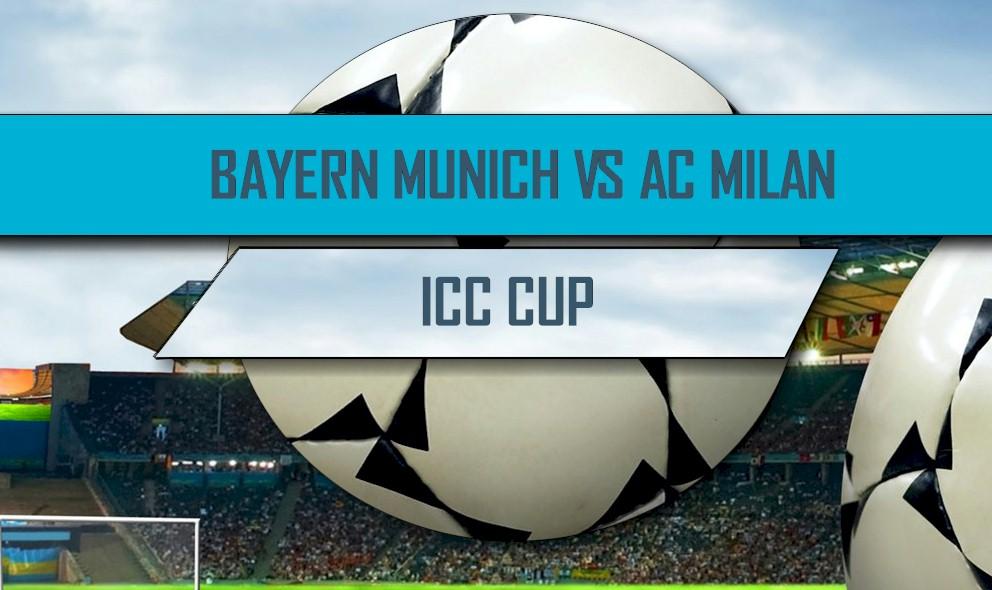 International Champions Cup 2016 Results: Bayern Munich vs AC Milan Score
