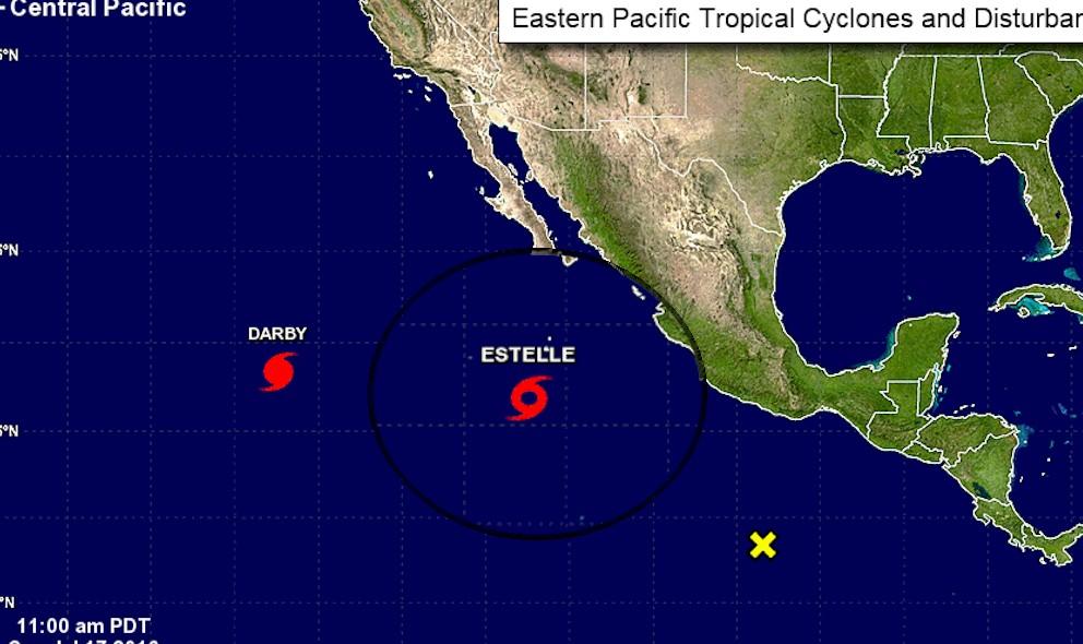 Hurricane estelle