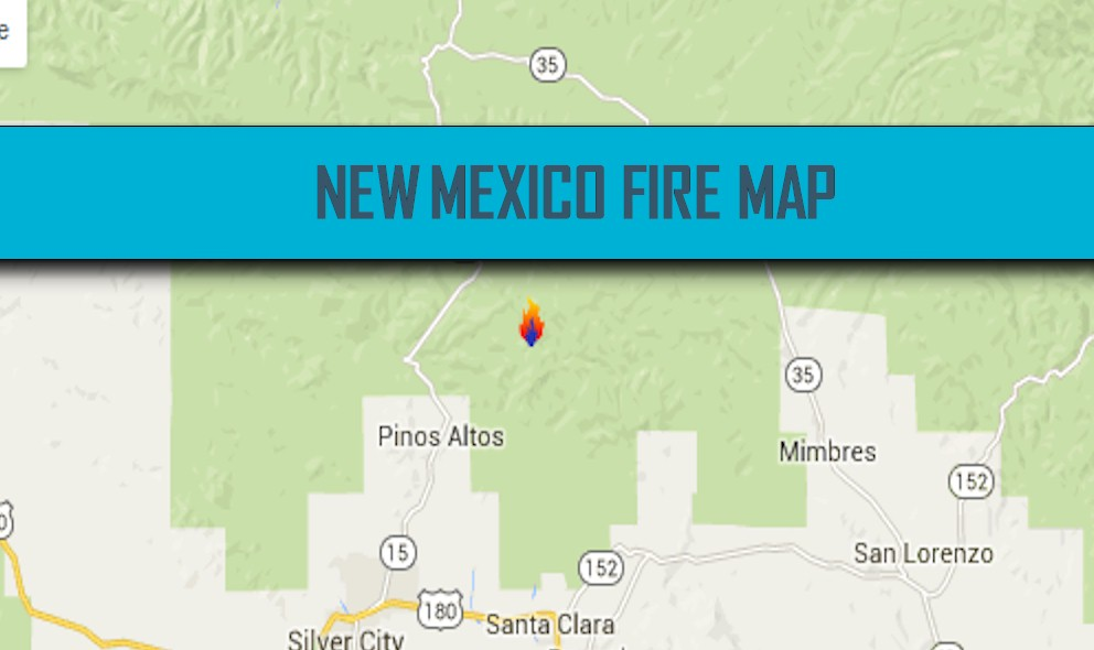 New Mexico Fire Map 2016: Black Fire Map Reaches 20% Containment