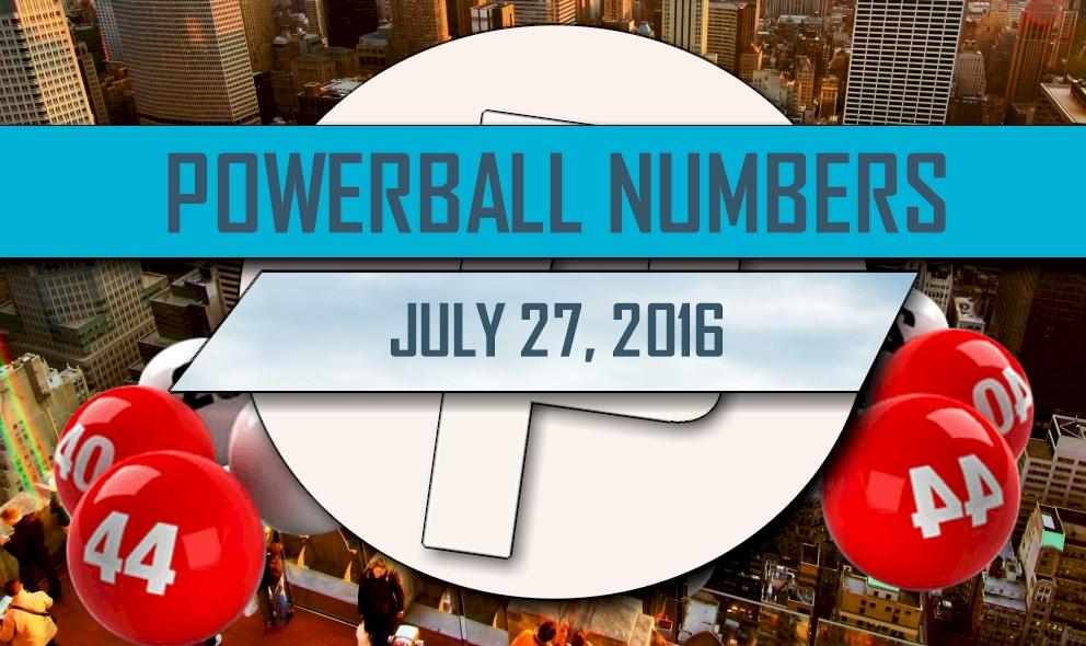 Powerball Winning Numbers July 27 Results Tonight Released