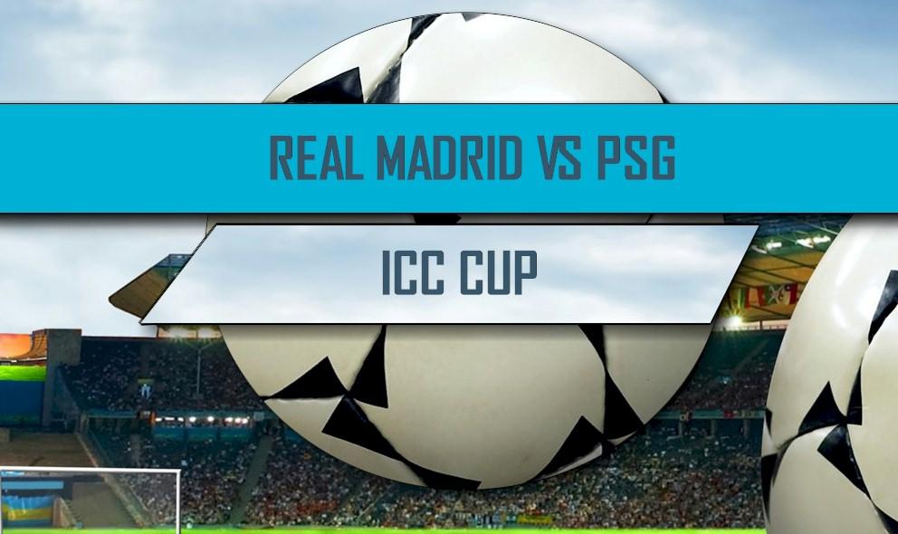 Real Madrid vs PSG 2016 Score En Vivo: International Champions Cup