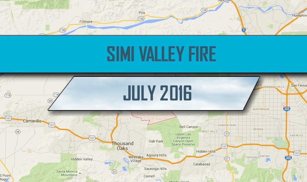 Simi Valley Fire 2016: Rocky Peak, Highway 118 Fire Grows