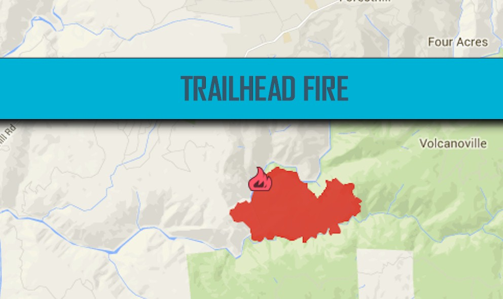 Trailhead Fire Map 2016: California Fire Map 2016 Updated Today