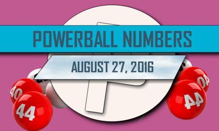 Powerball Winning Numbers August 27 Results Tonight Released 2016