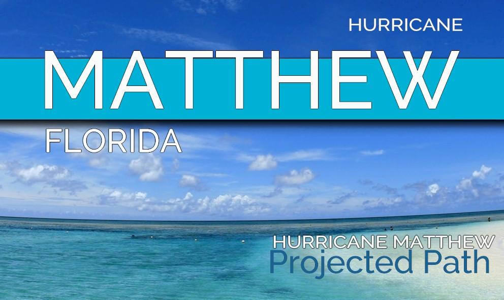 Hurricane matthew projected path 2016 florida evacuates