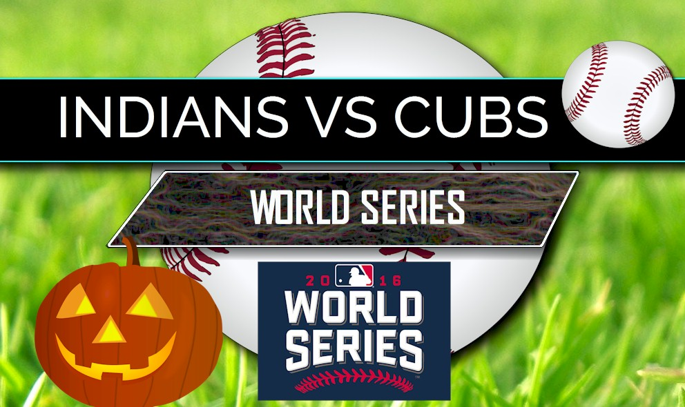 score cubs tonight indians series game