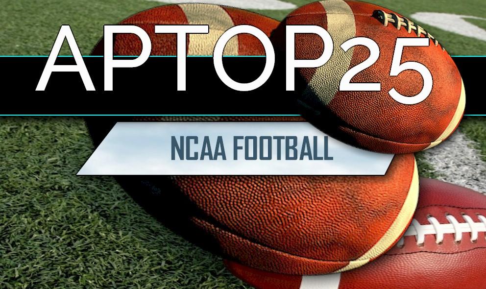 ncaa football top 25 college football on tv this week