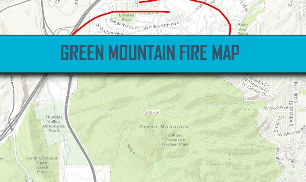 Green Mountain Fire Map 2016: Lakewood, Colorado Fire Grows