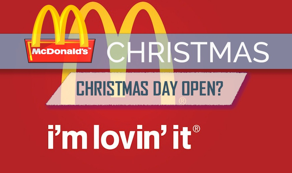 McDonalds Open on Christmas Day: iHop Open Today, Golden Corral