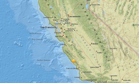 California Earthquake Today 2017 Strikes N of San Luis Obispo