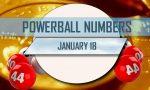 Powerball Winning Numbers January 18 Results Tonight: $135M