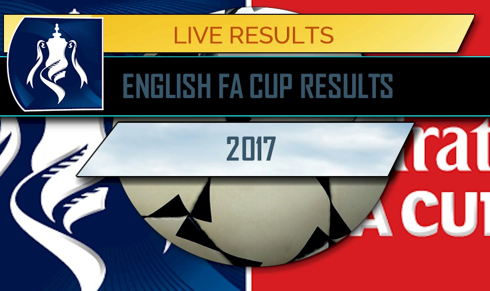 fa cup 2017 results