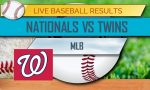 Nationals vs Twins Score: MLB Baseball Results Today