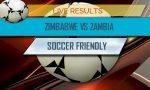 Zimbabwe vs Zambia Score: Soccer Friendly Game
