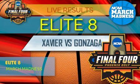 Xavier vs Gonzaga Score 2017: Elite 8 Bracket, March Madness